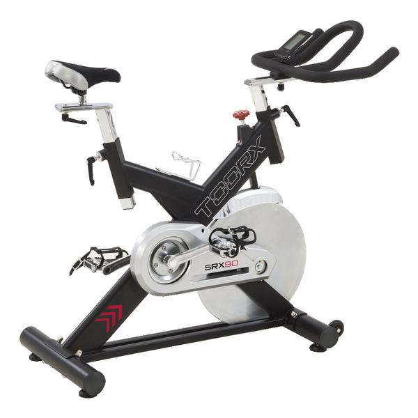 TOORX - Spinning bike con volano 24 kg e fascia cardio OMAGGIO - SRX 90