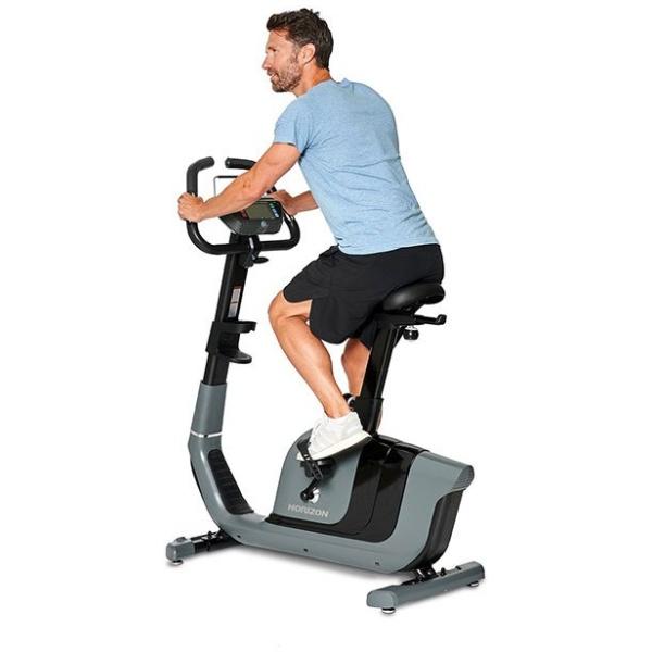 HORIZON – Cyclette verticale elettromagnetica ad accesso facilitato COMFORT 2.0
