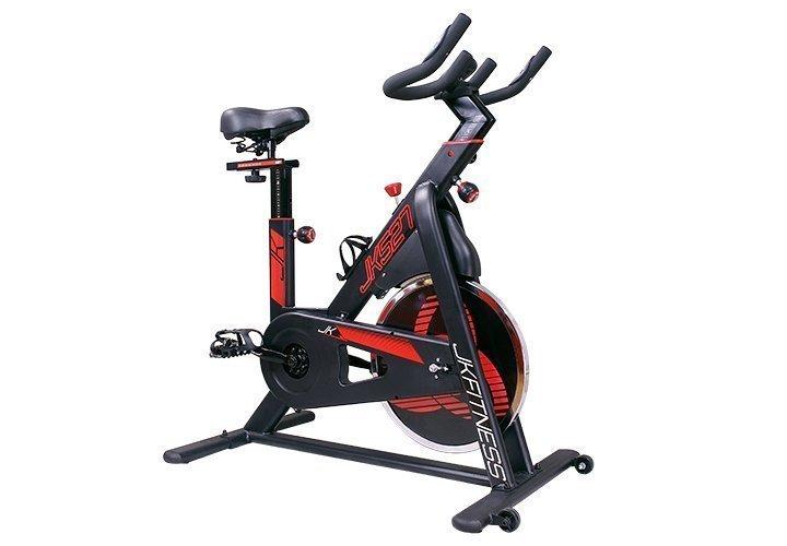 JK FITNESS - Spin bike a scatto fisso volano da 20 kg - JK 527