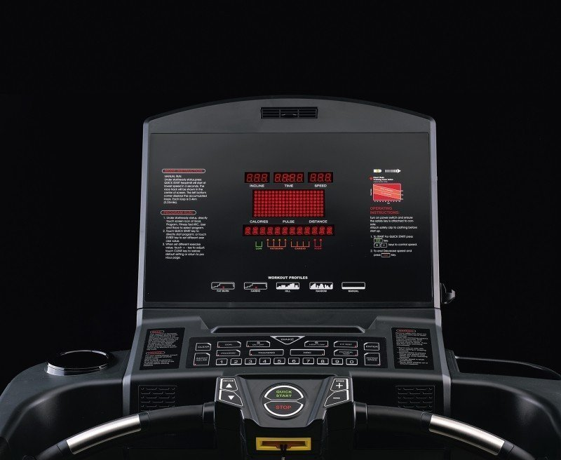 Tapis roulant JK Fitness Diamond D95 - Display