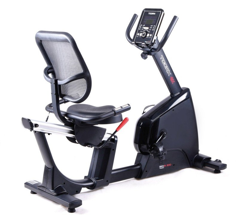 TOORX - Cyclette orizzontale elettromagnetica BRX R 300 RECUMBENT HRC