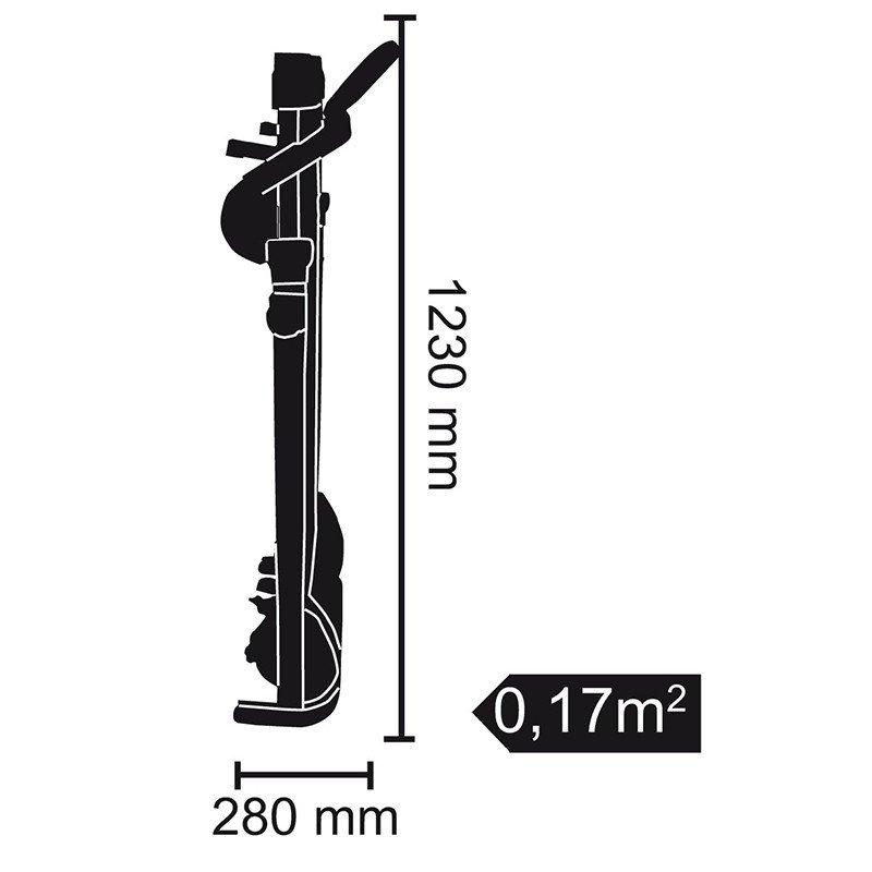 Tapis Roulant EVERFIT TFK SLIM MAG - Dimensioni