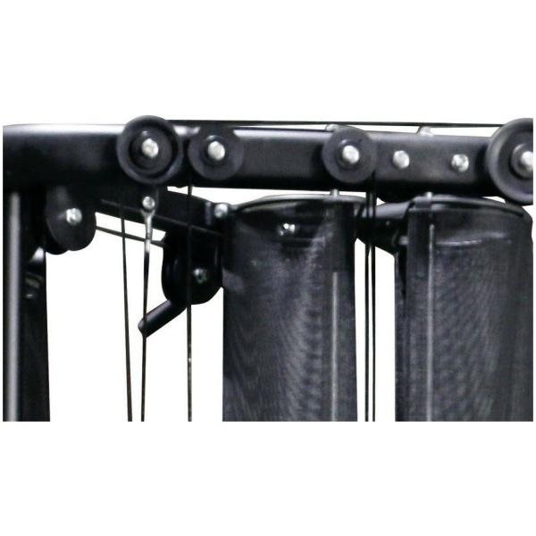 TOORX - Stazione multifunzione Dual Pulley Cable Cross doppio pacco pesi da 50kg CSX 70