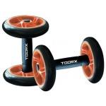 TOORX - Manubri con ruote per addominali AHF-157