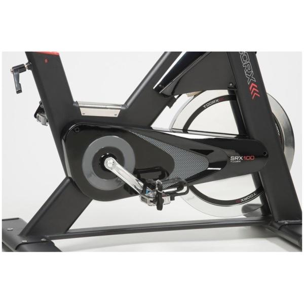 TOORX - Spinning bike con volano 26 kg e fascia cardio OMAGGIO - SRX 100