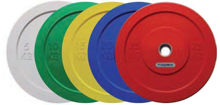 TOORX - Disco bumper challenge foro 50 mm diametro 45cm DBCH