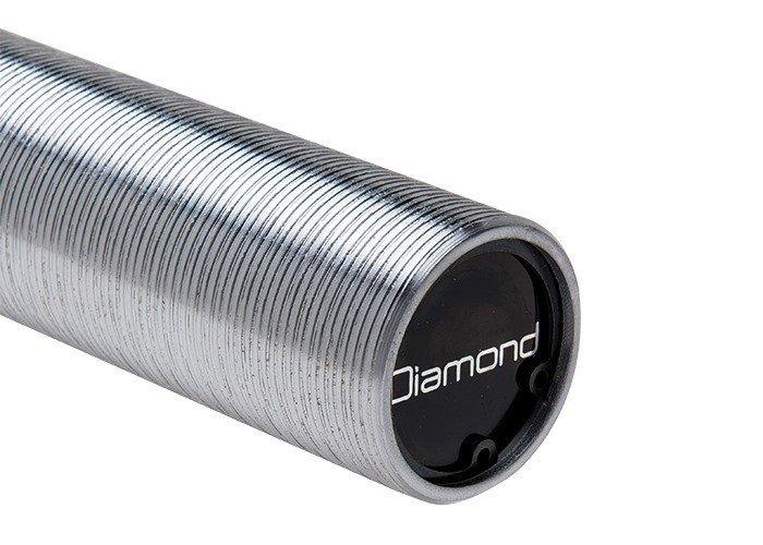 DIAMOND - Bilanciere olimpionico Sfida 220 cm Diam. 50mm