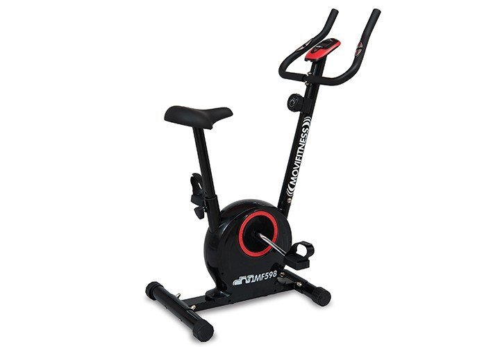 MOVI FITNESS - Cyclette magnetica con volano 5 kg - MF598