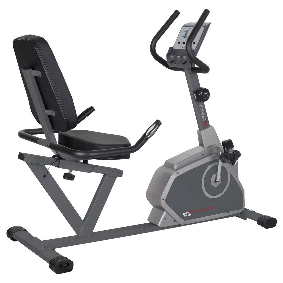 TOORX - Cyclette orizzontale magnetica BRX RECUMBENT 65 COMFORT