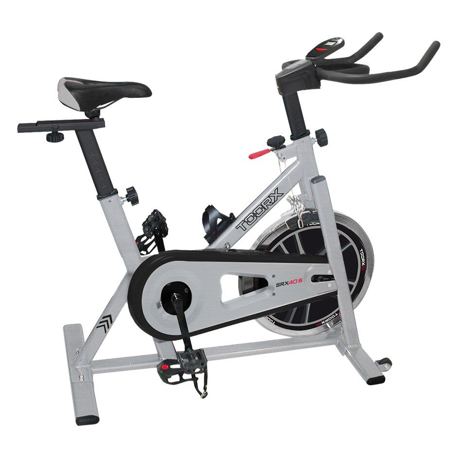 TOORX - Spinning bike a catena con volano 18 kg - SRX 40S