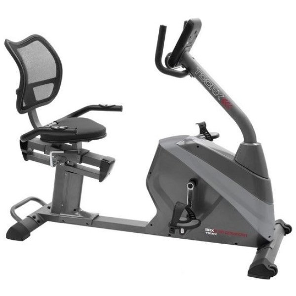 TOORX - Cyclette orizzontale elettromagnetica BRX R-95 COMFORT HRC recumbent