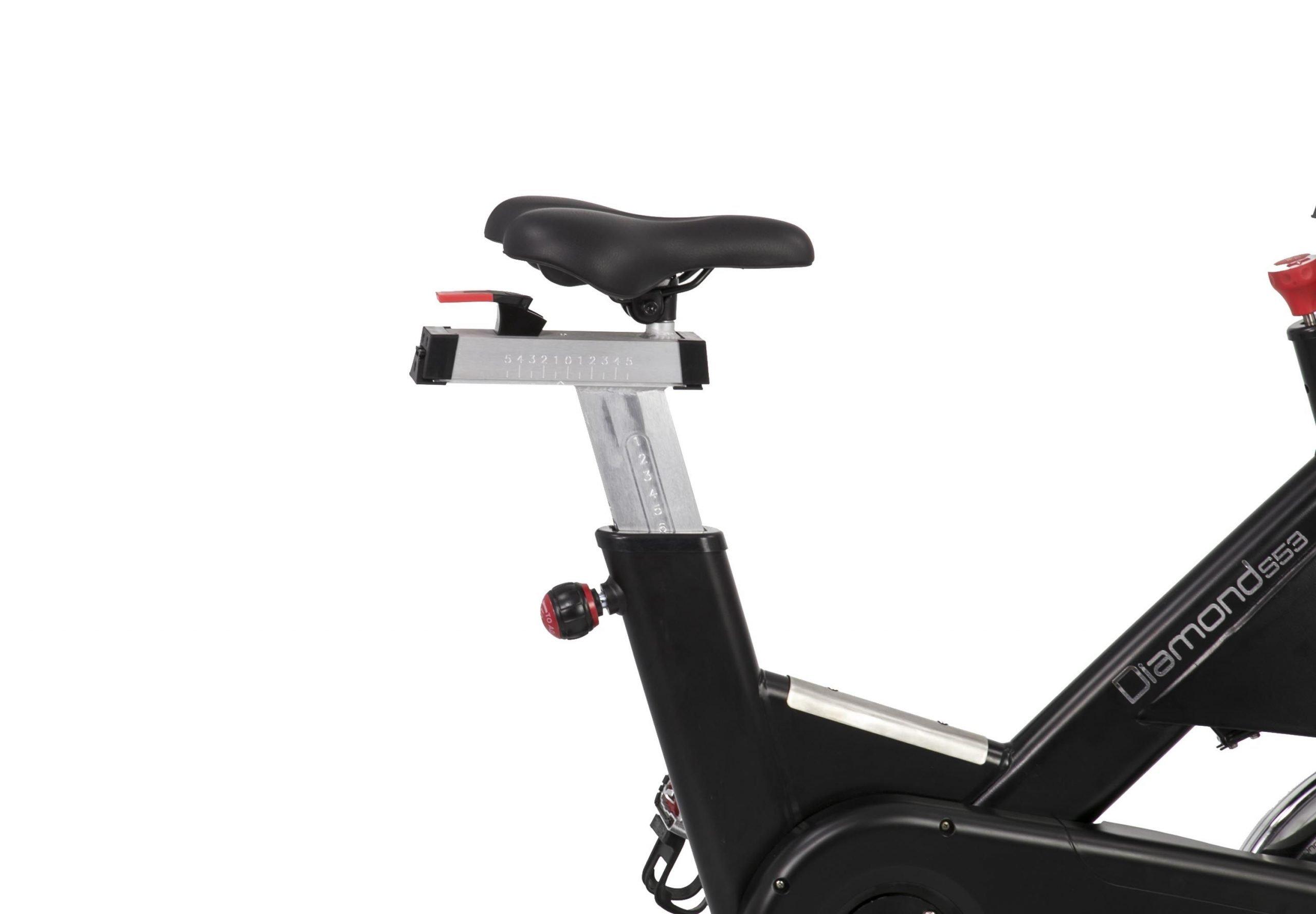 DIAMOND - Spinning bike Professionale a volano anteriore - S53 NOVITA' AUTUNNO 2019!