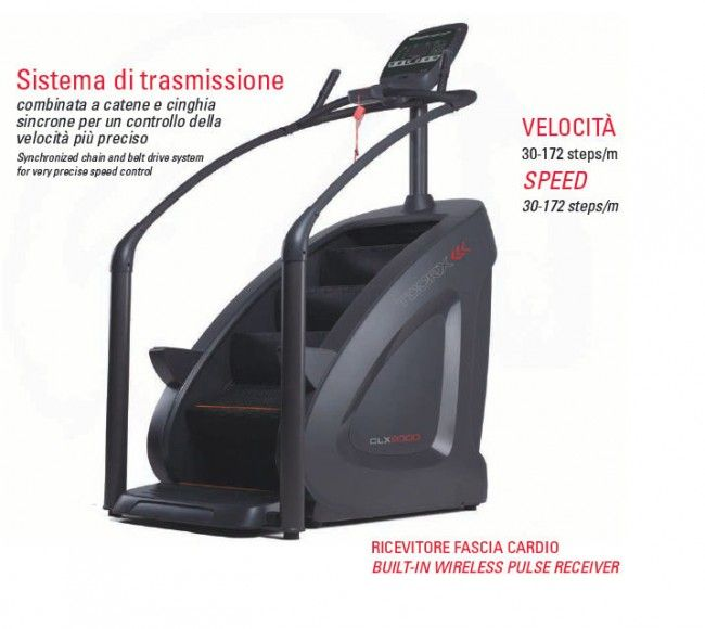 TOORX - Stair Climber Professionale CLX-9000