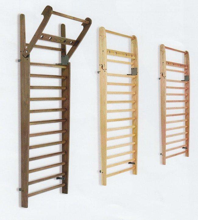 NOHrD Spalliera legno frassino - 14 barre