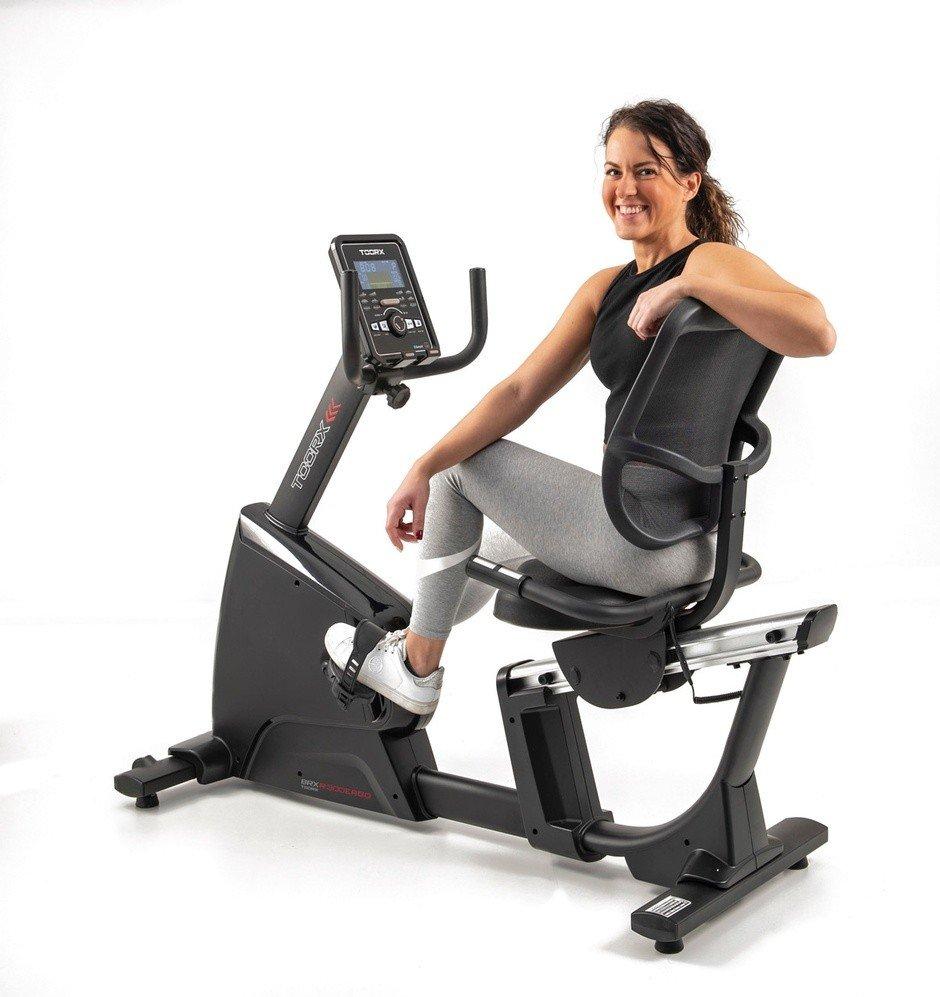 TOORX - Cyclette orizzontale ergometro BRX R 300 RECUMBENT Ergo HRC