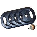 TOORX - Kit pesi Body Pump 20 kg complessivi