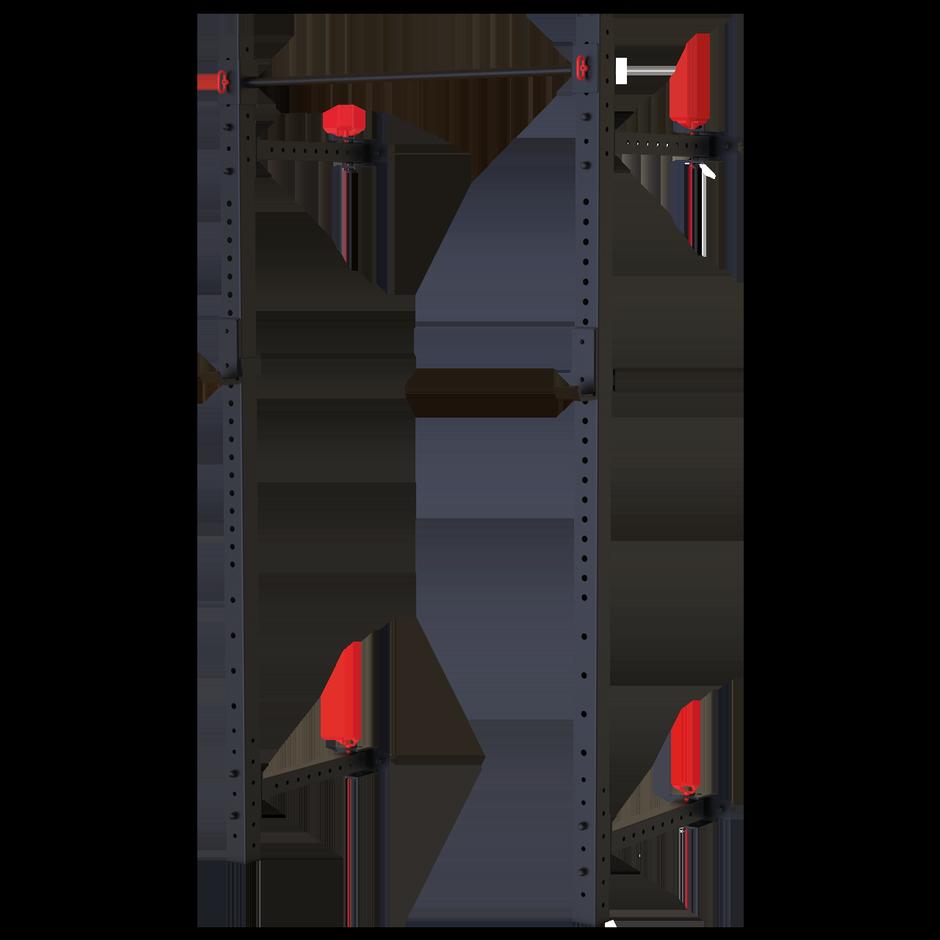 TOORX - Rack a parete Professionale salvaspazio richiudibile WLX-2800