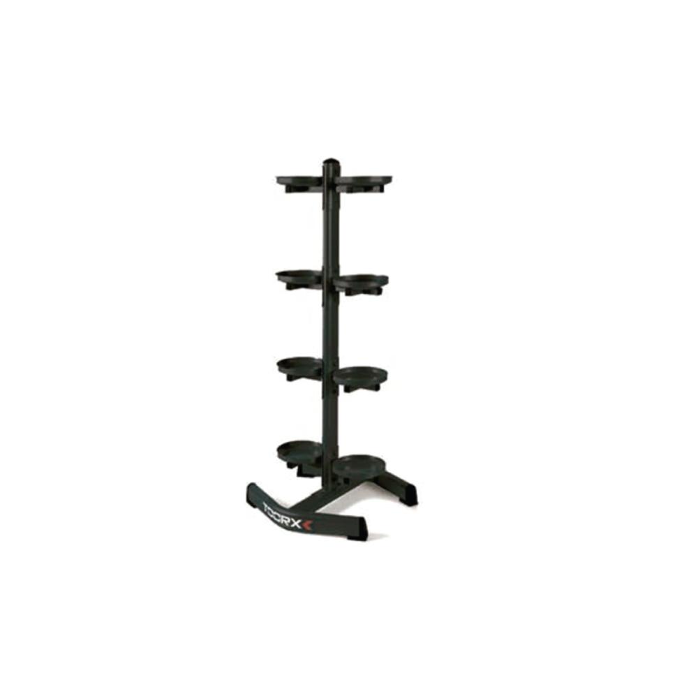 TOORX - Rastrelliera verticale porta Kettlebell a 8 ripiani RPK-8