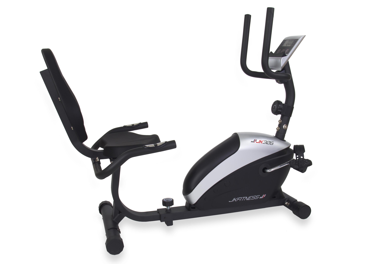 JK FITNESS - Cyclette orizzontale magnetica JK 306