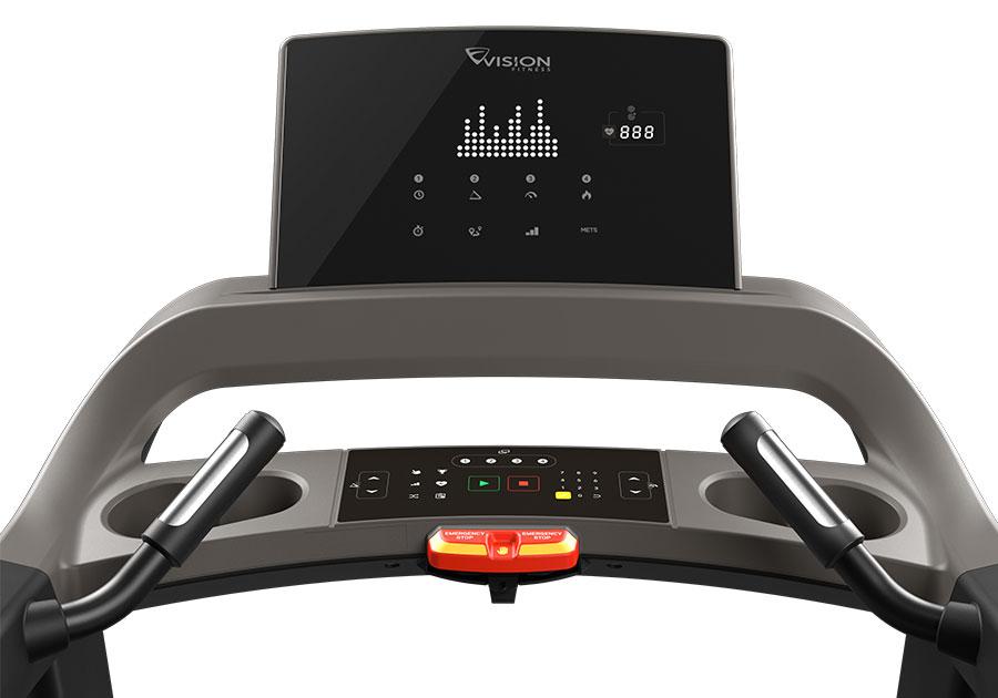 VISION FITNESS - Tapis roulant motorizzato Professionale con Dynamic Response T600
