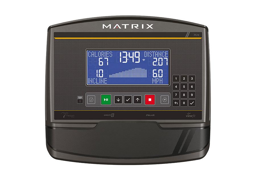 MATRIX - Ellittica elettromagnetica a volano anteriore E30 console XR