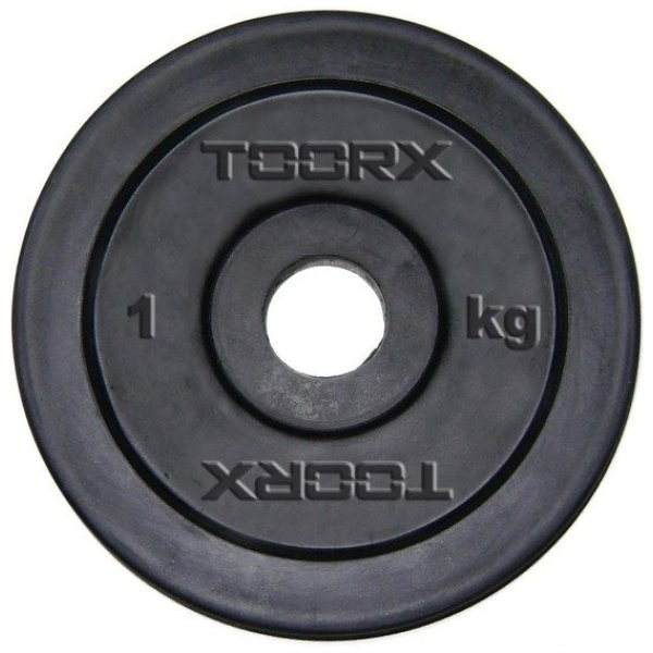 TOORX - Disco in ghisa gommata foro 25-26 mm DGG