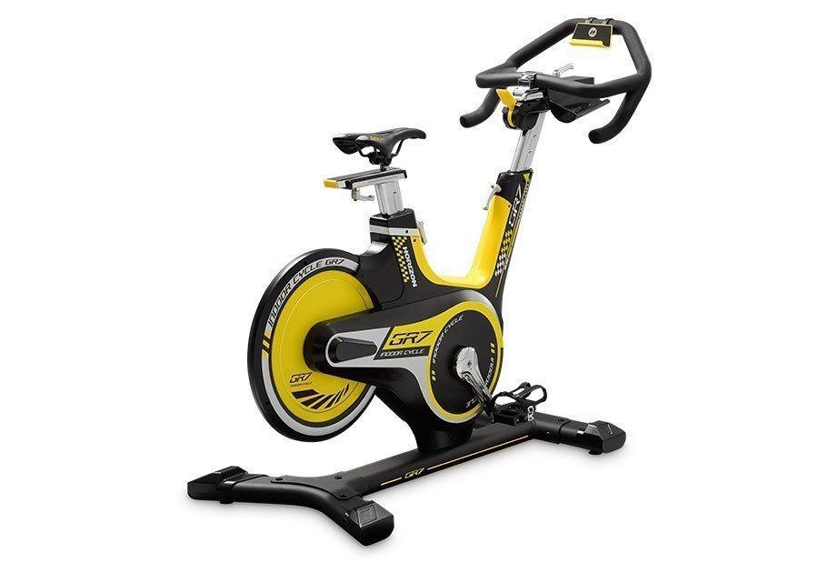 Horizon GR7 Indoor Spinning bike a volano posteriore-4