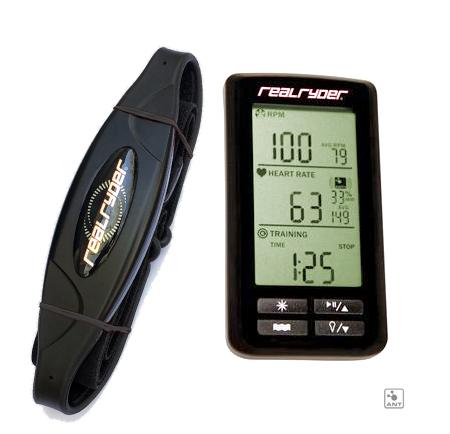 REALRYDER - Standard computer kit + Fascia Cardio per spinning bike RealRyder