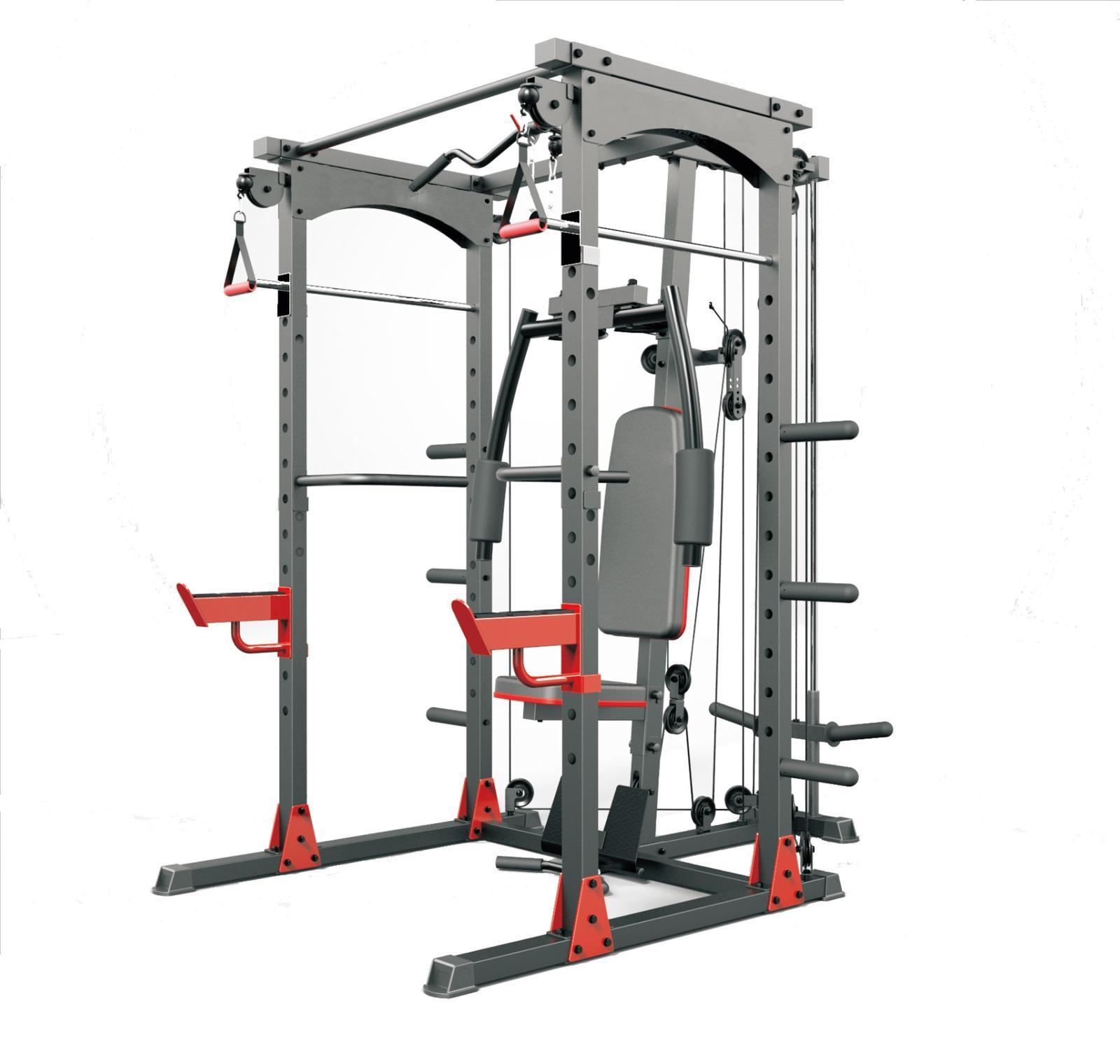 TEKKFIT - Gabbia rack multifunzione per allenare tutto il corpo