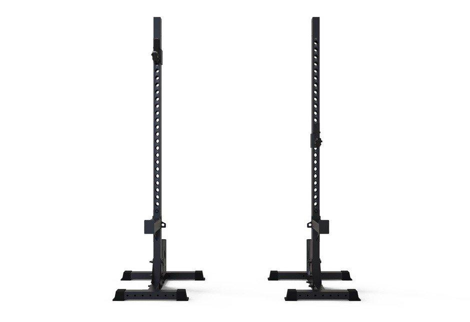 TOORX - Coppia supporti squat Professionali con porta bumper WLX 3000-2