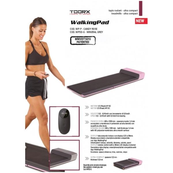 TOORX - Tapis roulant richiudibile super compatto WalkingPad-1