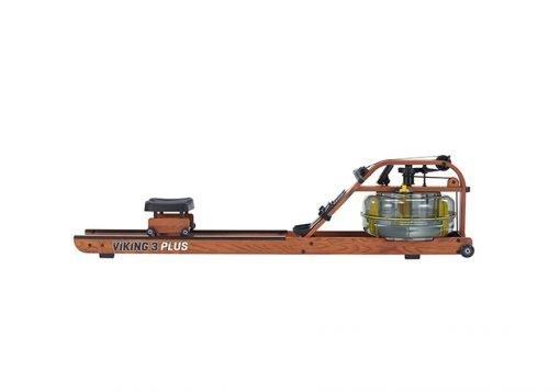 FIRST DEGREE FITNESS – Vogatore Professionale in legno a doppia vasca e doppia corsia VIKING 3 PLUS