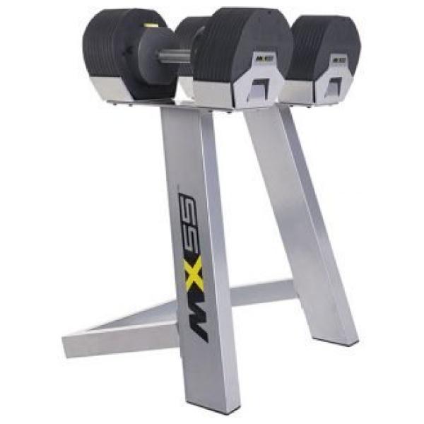 IRON MASTER - Set peso regolabile fino a 24,9 kg (incluso rack-aste-pesi) MX55