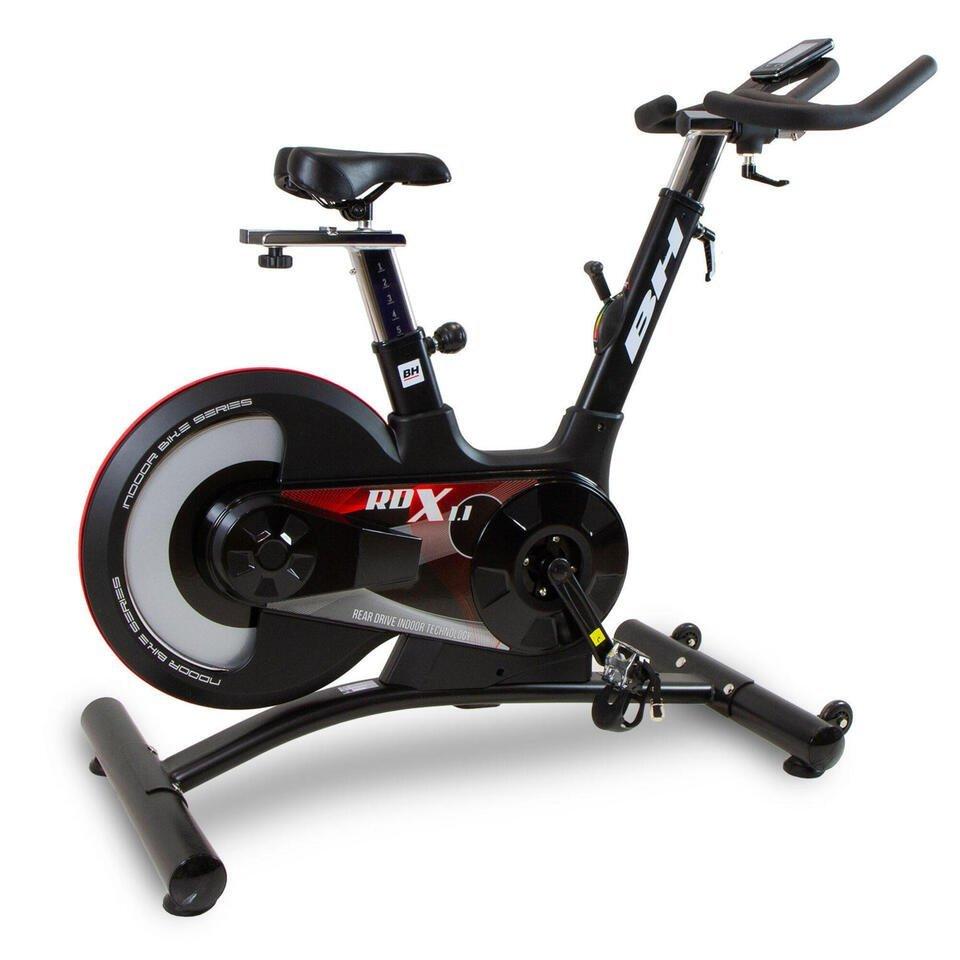 BH FITNESS - Spinning bike magnetica e a tampone con feltri a volano posteriore RDX 1.1
