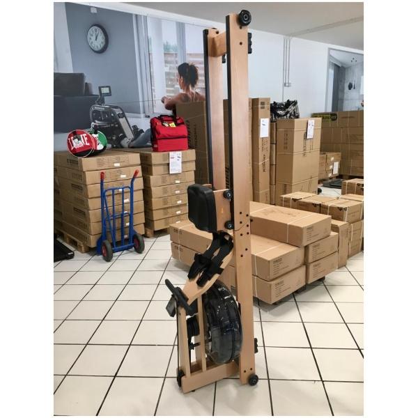 TEKKFIT - Vogatore richiudibile a doppia corsia in legno di faggio con resistenza ad acqua