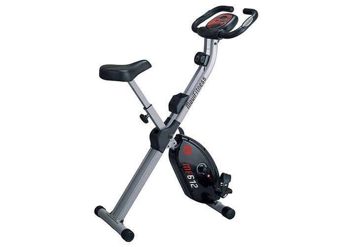MOVI FITNESS - Cyclette magnetica salvaspazio richiudibile MF612 X-Bike