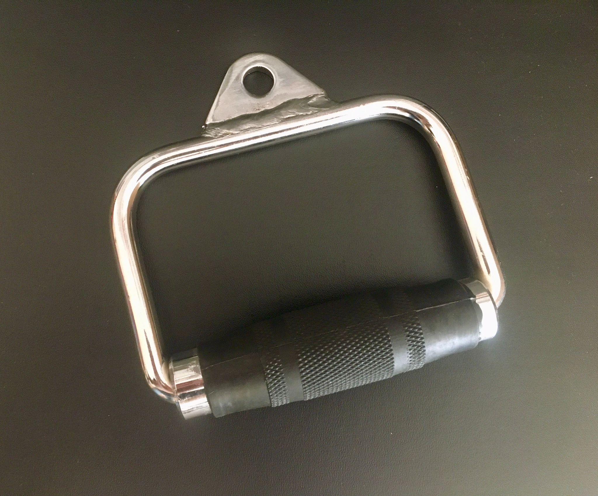 TEKKFIT - Maniglia single pulley per trazioni con impugnatura gommata